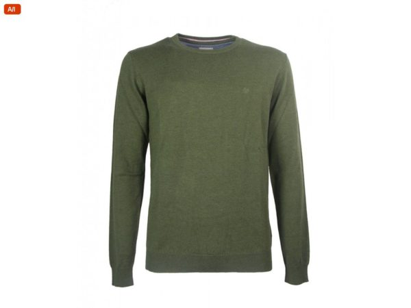 Uomo Crew Maglione Colore Ivy W85674qix Green Knit Wrangler Cod gqdnvxdOw