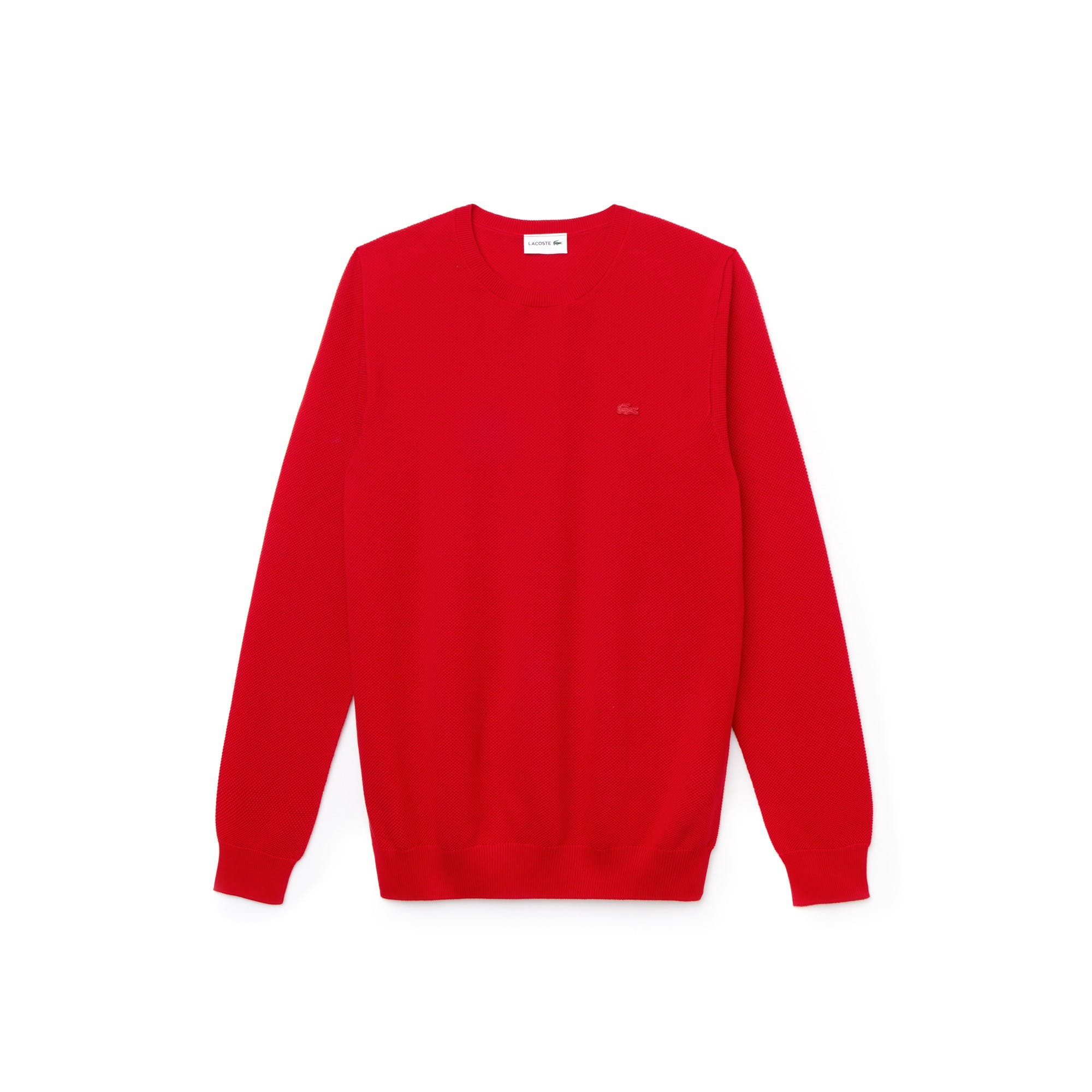 classic fit 0d1df bc121 Pullover Lacoste Uomo Rosso AH4082.240