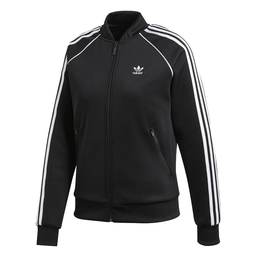 Felpa/Giacca Adidas Donna Track Jacket SST Nera CE2392