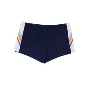 Costume Short Uomo Colmar Revolutional Aderente Blu/Bianco Con Righe Laterali 6512.4LR.27