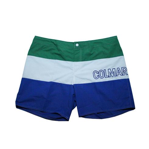 Costume Short Colmar Uomo Island Verde/Bianco/Azzurro 7290.6ML.89